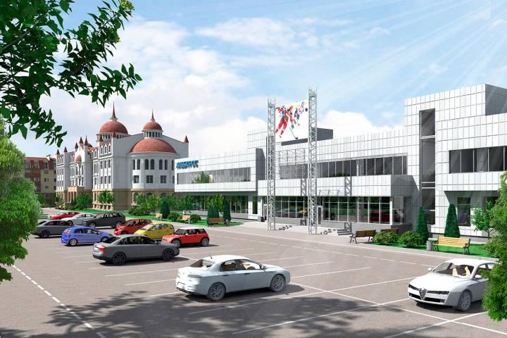 В новейшей российской столице притормозят состроительством жилья