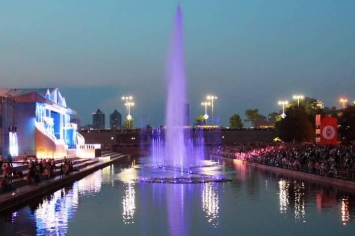 ВЕкатеринбурге нареке Исеть установят музыкальный фонтан задва млн. руб.