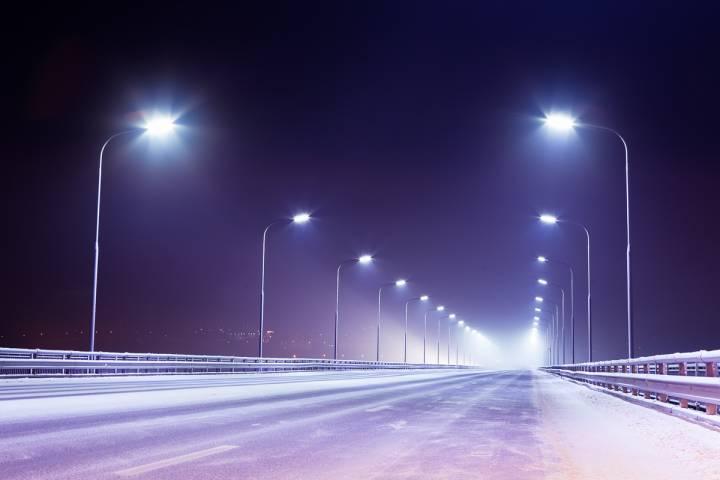 ВПодмосковье отремонтировали иустановили 1,5 тысячи новых фонарей