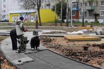 Сроки по благоустройству сорваны в Курске, Железногорске и Рыльском районе